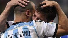 Javier Mascherano vs Netherlands SF#