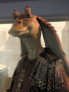 Jar Jar Binks is a funny and awesome character, Star wars would not be the same without him!