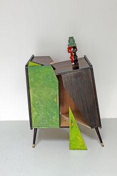 Jacques Lizène, 'Meuble DECOUPE 1964, naufrage de regard, arte syncrétique 1964, la escultura génétique culturelle 1974, estatua fétiche précolombien d'art africain croisé estatuilla de estilo, en el remake de 2011,' 2011, Nadja Vilenne
