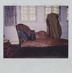 Artwork by Balthus - Untitled, (1990)   Photography   Polaroid   Artstack - art online