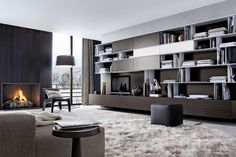 Poliform - Skip Bookcase by Studio Kairos for Poliform