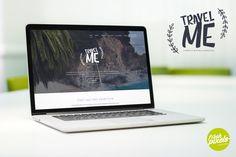 TravelMe - Travel Magazine PSD by FreshPixels on @creativemarket
