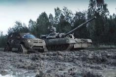 Dacia Duster vs T80 Dacia Duster, Romania, Tao, Military Vehicles, Marvel, Trucks, Army Vehicles, Truck