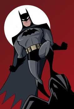 "Batman ready for action - ""Batman: The Animated Series"""