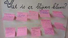 JOTTE: wat is er blijven kleven? Cooperative Learning, Kids Learning, Primary School, Pre School, Coaching Techniques, Class Tools, Visible Learning, Leadership Coaching, School Posters