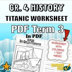 Teaching Resources for South African Teachers Color Test, Free Activities, Activity Sheets, Primary School, Titanic, Geography, Teaching Resources, South Africa, Worksheets