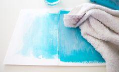 Scrappy Art Journaling | #art journal inspiration | canvas design