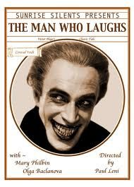 Conrad Veidt appeared in over 100 films from 1919 until 1943, including two of the most well-known of the silent era: The Cabinet of Dr. Caligari (1920)  and The Man Who Laughed (1928).  Stills from The Man Who Laughed are thought to be Bob Kane's inspiration for the creation of comic book character The Joker.