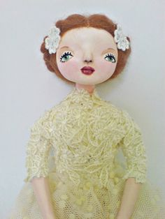 Ooak jointed art doll  Anne by yalipaz on Etsy