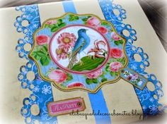 Una caja decorada: Botanical Tea