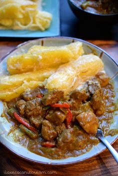 tongan Coconut Lamb Curry