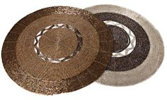 Round Placemats with Glass Beads