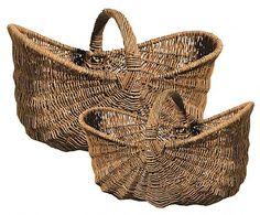 Willow Gathering Basket set