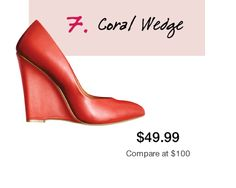 awesome coral wedges!