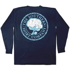 Logo II L/S - Long Sleeve - Shop | The Southern Shirt Company and other apparel, accessories and trends. Browse and shop related looks.