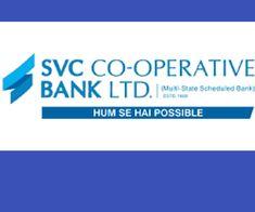 SVC Co-Operative Bank Recruitment 2018 Notification - Sham Rao Vithal Co-Operative Bank Jobs -Apply Online @Bank Exam Tips
