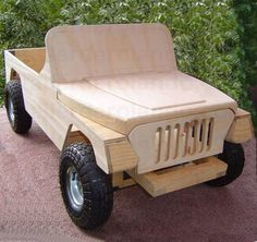 Children's Wooden Car