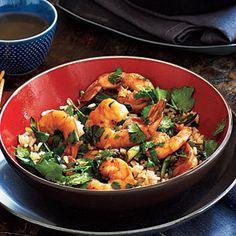 Cilantro Shrimp   MyRecipes.com