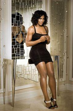 Serena Williams! Black Woman!