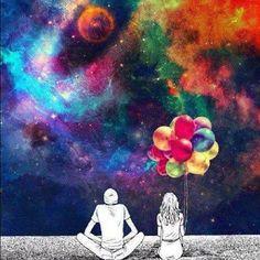 Psychedelic. tu y yo hasta el fin del mundo. piensalo.