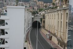 The infamous tunnel in F1 at Monaco