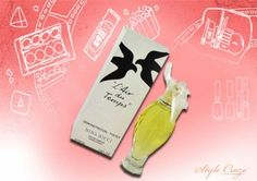 Best Vintage Perfumes 5) Nina Ricci L'air Du Temps. Created in 1948 by Robert Ricci, this fragrance is a favorite all year round. Its blend of jasmine, rosewood, bergamot and sandalwood among other notes makes it a winner among women globally. The bottle itself is beautifully crafted, with a dove representing peace as this was launched just after the World War II.