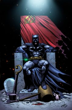 Batman's Throne by HeagSta.deviantart.com on @DeviantArt