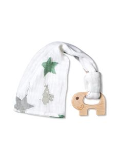 aiden and anais teething toy with blanket