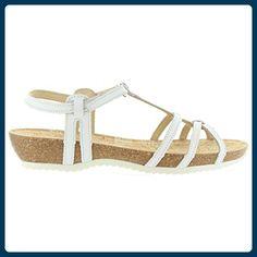 Sandalen für Damen PANAMA JACK DORI RUN B4 NAPA BLANCO Schuhgröße 41 - Sandalen für frauen (*Partner-Link)