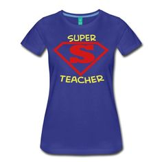 Super Teacher - Women's Premium T-Shirt