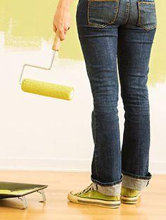 10 errores comunes al pintar paredes
