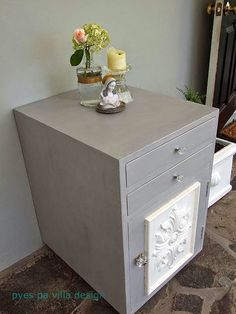 I heart Paris Grey chalk paint