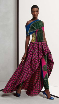 Check out this Gorgeous african fashion outfits 2302724263 African Inspired Fashion, African Print Fashion, Africa Fashion, Ethnic Fashion, Fashion Prints, African Prints, Ankara Fashion, European Fashion, African Attire