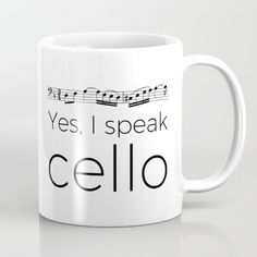 """Yes, I speak cello"", music, musical joke, Bach Music Jokes, Music Humor, Cellos, Cello Photography, Orchestra Humor, Cello Art, Cello Sheet Music, Instruments, Teaching Music"