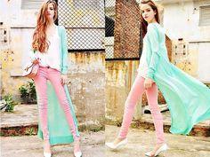 Pastelle Colours (by Vanessa Black) http://lookbook.nu/look/3943712-Pastelle-Colours