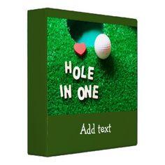 Golf Binders for Golfer