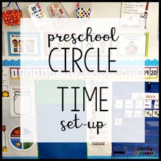 When planning out circle time for your preschool classroom, set-up of your space is a key component. Read on for more! I finished my school year up about 3 weeks ago and no matter how hard I try to take a little break from school. My mind always seems to go to next year. It is like my te