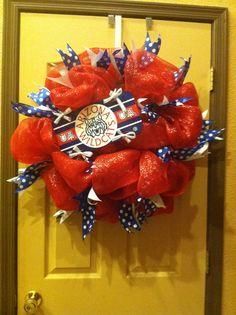 U of A wreath! Go wildcats!