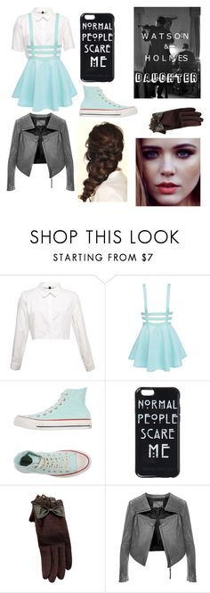 """""""johnlock daughter"""" by ellie-molyneux ❤ liked on Polyvore featuring Converse, Linea Pelle and Disney"""