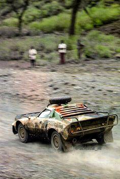 Lancia Stratos al Safari Rally