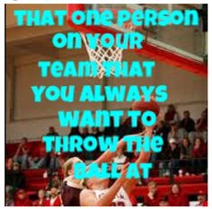 Taylor, Corinna, Drew, Jody-anyone else, your not getting the ball