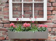 Stainless Steel Window Box. http://www.betterlivingthroughdesign.com/wp-content/themes/bltd/lib/timthumb.php?src=http://www.betterlivingthroughdesign.com/images/Edgely-...