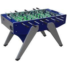 The Florida Outdoor Foosball Table in Blue - model FLFoosBlu