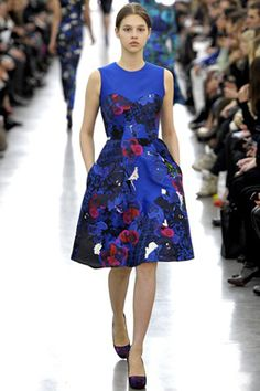 ERDEM:London fashion week, photo by VOGUE