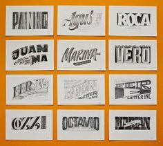 betype:  Letter INC. / Original Artworks byYani Arabena &...