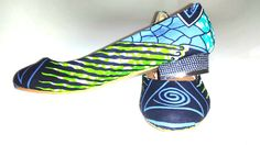 Waterproof African Print Shoes UK 9  8  6  4 by African Septs, showcasing at IchinenFashion. £25.00