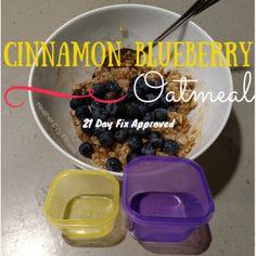 Cinnamon Blueberry