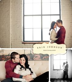 Engagement Portraits by Erin Johnson Photography!