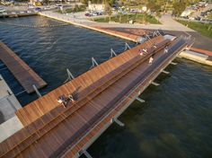Image 1 of 34 from gallery of Bostanlı Footbridge & Sunset Lounge / steb. Photograph by ZM Yasa Architecture Photography