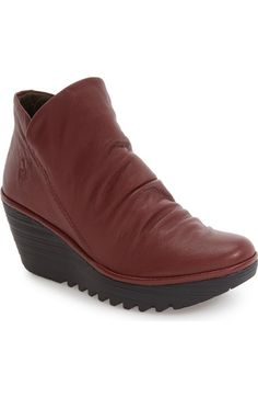 Fly London 'Yip' Wedge Bootie (Women) available at #Nordstrom. $219.95.